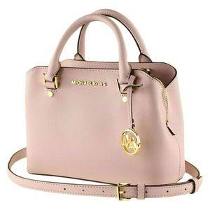 ☀️NWT☀️MICHAEL KORS Savannah Small Satchel Bag